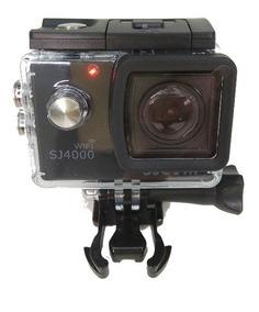 Sj4000 Wi-fi Sjcam +microfone+bateria + Sd 32 Gb Patomotos