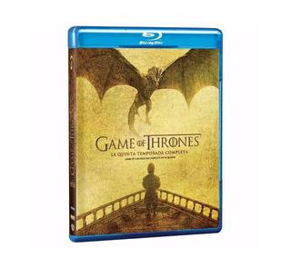 Blu-ray Game Of Thrones Quinta Temporada Nuevo Cerrado Sm