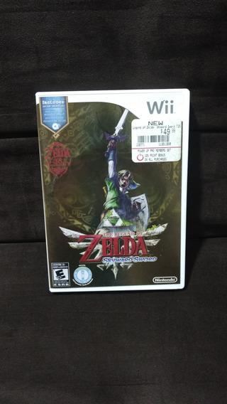 Nintendo Wii - Zelda Skyward Sword, Edição 25 Anos Nintendo