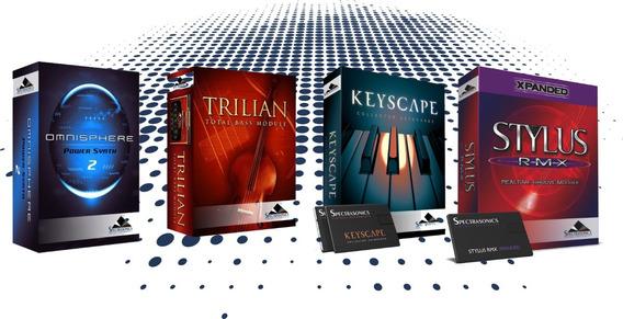 Spectrasonics Omnisphere 2 + Keyscape + Trillian E Stylus Rx
