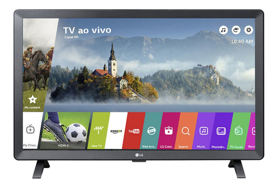 Smart Tv Monitor Lg 24 Led Wi-fi Webos 3.5 Dtv Time Machine