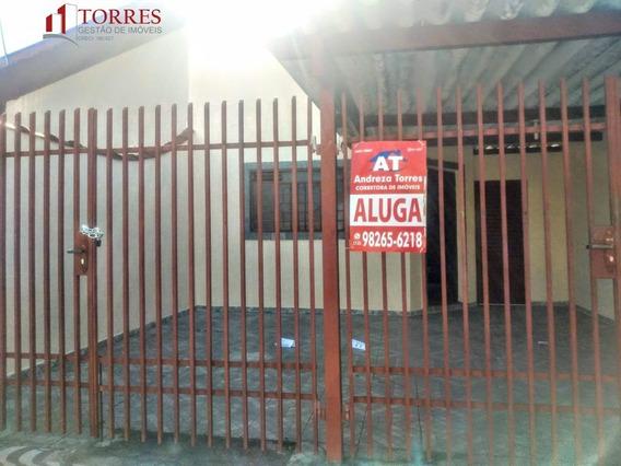 Casa Para Alugar No Bairro Centro Em Tremembé - Sp. - 483-2