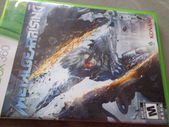 Metal Gear Rising Revengeance Xbox 360 Ótimo Ntsc $19