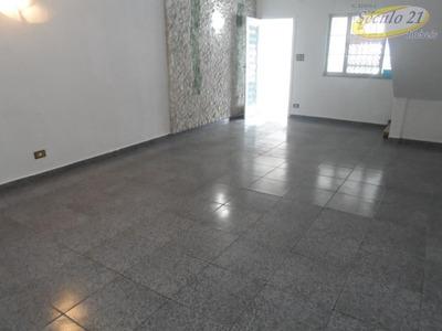 Sobrado Residencial À Venda, Centro, São Vicente - So0050. - So0050