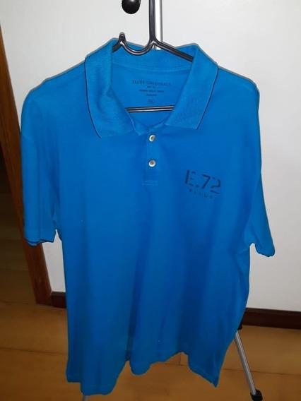 Camiseta Polo Ellus Tam G Azul