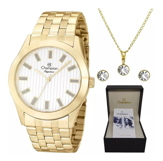 Relógio Champion Feminino Original + Nota Fiscal Sk23