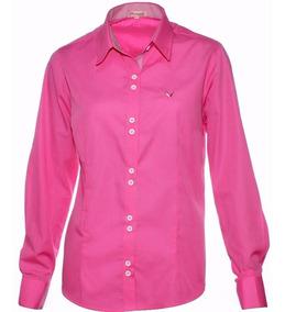 Camisa Social Rosa Camisete - Pimenta Rosada Fio Egípcio