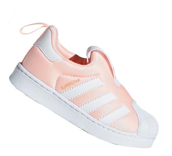 Tênis adidas Slip-on Superstar Originals 360 Rosa Db2882