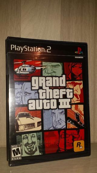 Gta Grand Theft Auto 3 Para Playstation 2