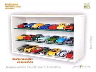 Expositor Estante Planeta Miniatura P Carro Ferrari 1:24 Led