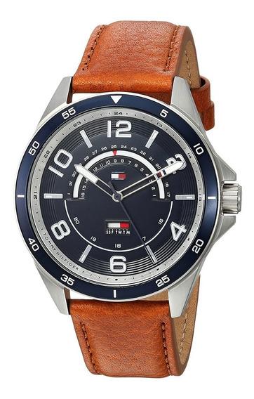 Relógio Tommy Hilfger 1791391 Original - Couro\casual