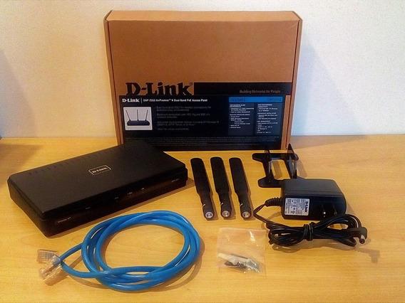Dlink Dap-2553 Access Point: Expanda Sua Wi-fi Em 2.4/5ghz.