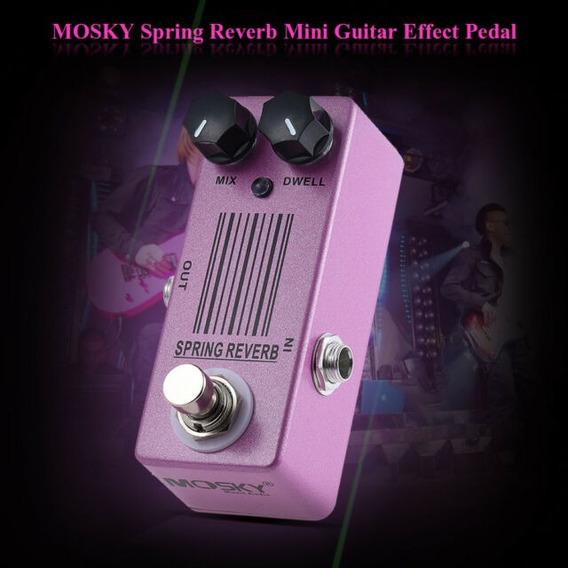 Pronta Entrega - Mosky Spring Reverb Mola