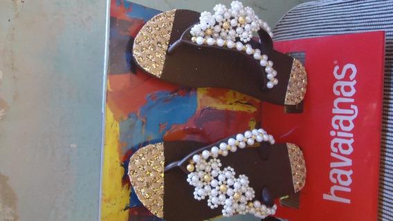 Sandálias Havaianas Customizadas