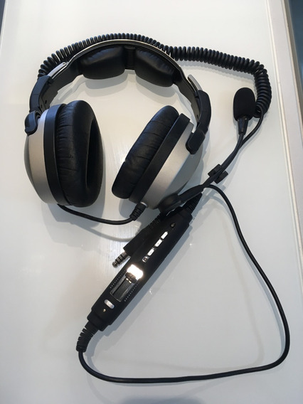 Headset Lightspeed - Zulu 2 - Plug U-174 (helicóptero)