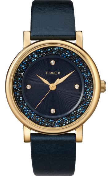 Reloj Timex Mujer Azul Tw2r93100