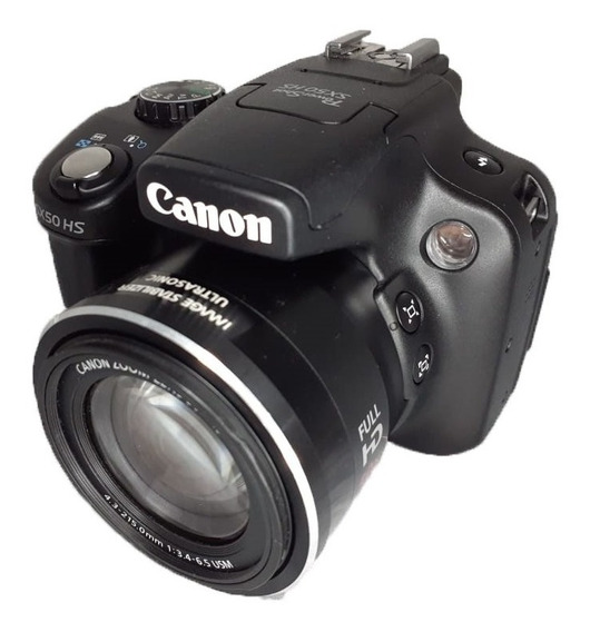 Câmera Canon Powershot Sx50 Is Seminova Perfeita