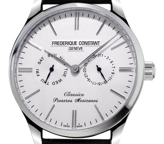 Reloj Frederique Constant Fc-259stmx5b6 Para Caballero Correa De Piel