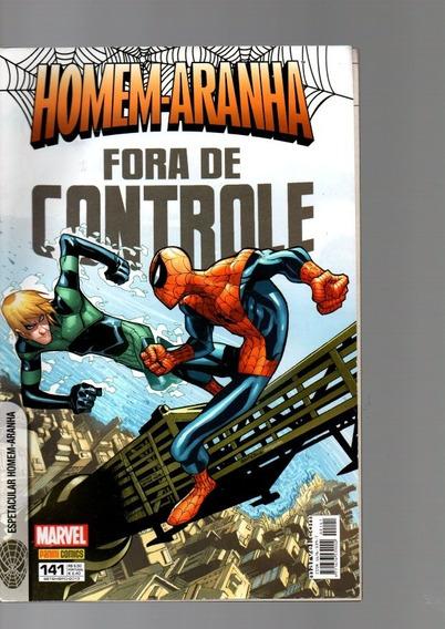 Hq Espetacular Homem-aranha Fora De Controle #141
