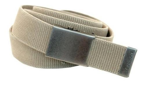 Cinturón Columbia Estilo Militar Para Hombre- Envío Gratis