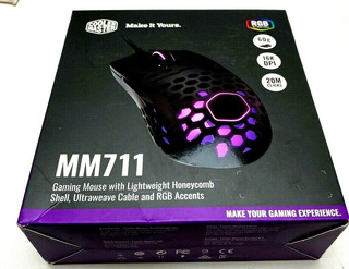 Mouse Gamer Coolermaster Mm711 Con Luz