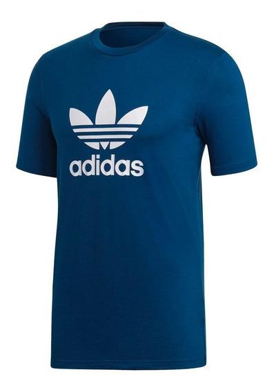 Remera adidas Originals Trefoil T-shirts Dv1603 Hombre Dv16