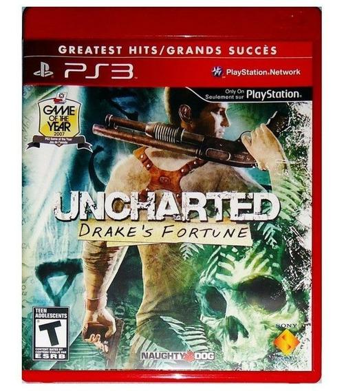 Jogo Uncharted Greatest Hits - Novo - Lacrado Ps3
