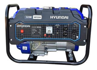 Generador Planta De Luz Hyundai 2,200w 6.5hp