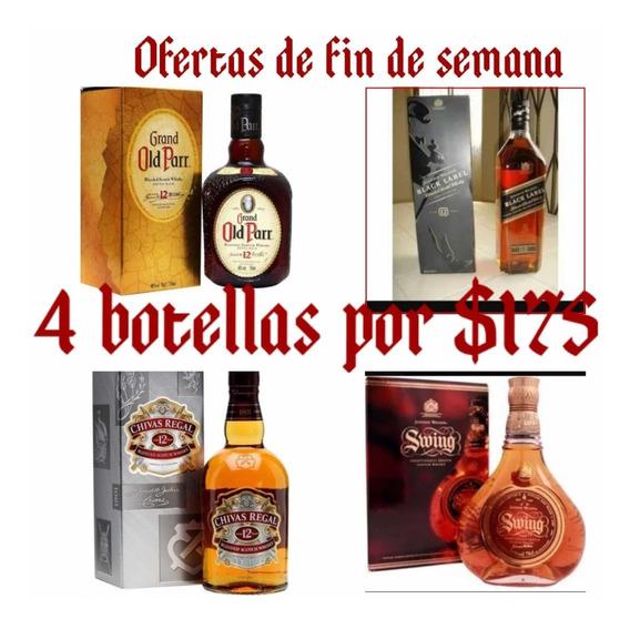 Whisky Combo Botellas De Litro.! Guayaquil