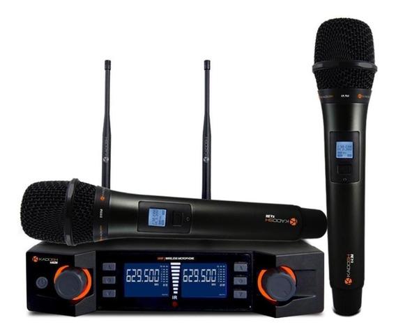 Microfones sem fios Kadosh K-492M cardióide