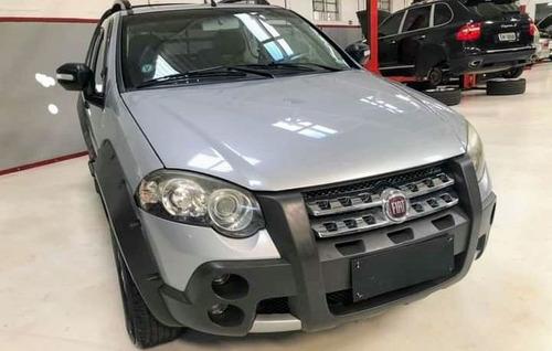Imagem 1 de 8 de Fiat Strada 1.8 16v Adventure Cab. Dupla Flex Dualogic 2p