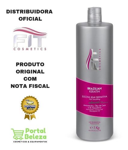 Semi Definitiva Brazilian Keratin Sem Formol Fit Cosmetics