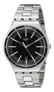 Reloj Hombre Swatch Acero Inoxidable Sumergible Gtia 1 Año