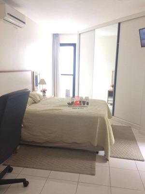 Studio Com 1 Dormitório À Venda, 35 M² Por R$ 450.000 - Vila Nova Conceição - São Paulo/sp - St0263