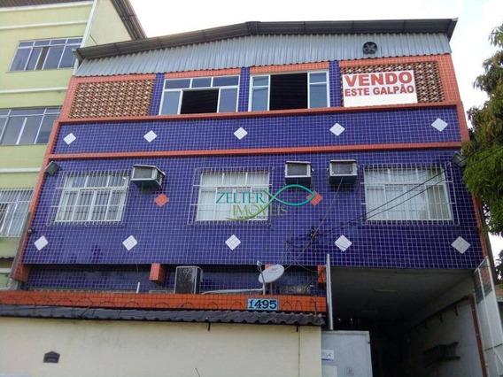 Galpão Enorme - 990 M² - Oito Salas - Cinco Banheiros - Ga0004