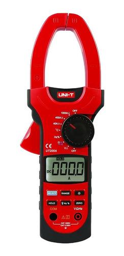 Pinza Amperimétrica Unit-208a