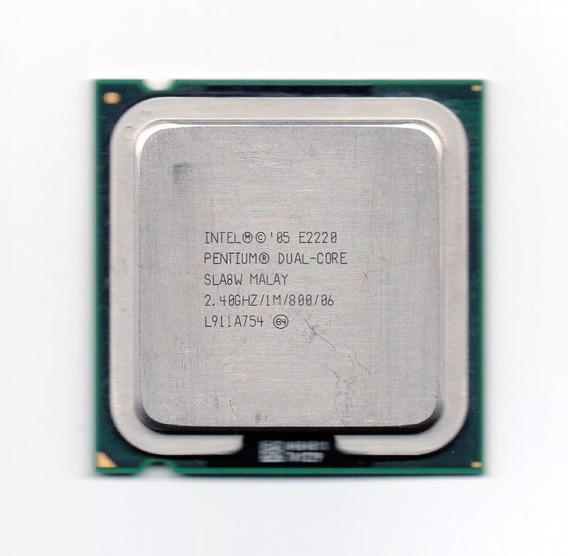 Processador Intel Dual Core E2220 2.40ghz Lga775 Fsb 800 1mb