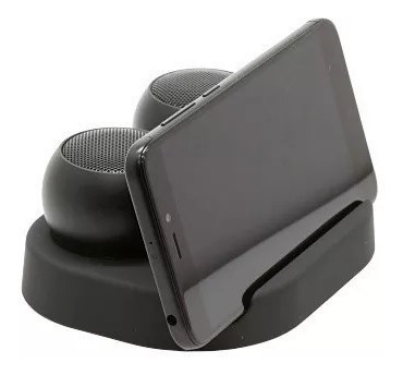 Mini Caixa De Som Bluetooth Para Celular Com Base Lux