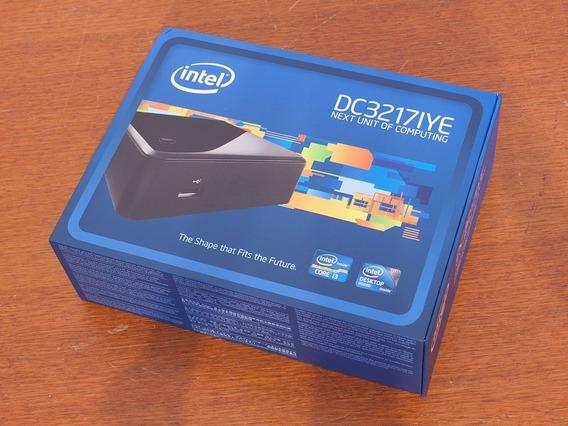 Computador Intel Nuc (intel Celeron) - Dc3217iye - Preto