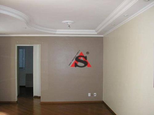 Apartamento Com 2 Dormitórios Para Alugar, 69 M² Por R$ 2.000,00/mês - Jardim Marajoara - São Paulo/sp - Ap42368