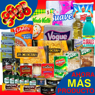 Despensa Gsg4 Económica Armada Básica Completa Del Hogar