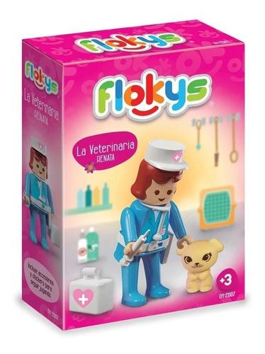 Flokys La Veterinaria C/accesorios Simil Playmobil Rasti Mca