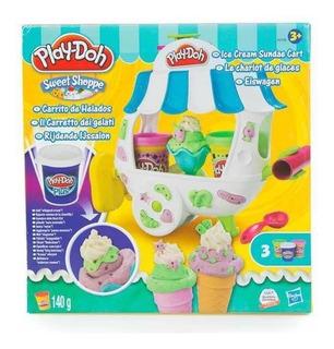 Carrito De Helados Con Accesorios Play-doh