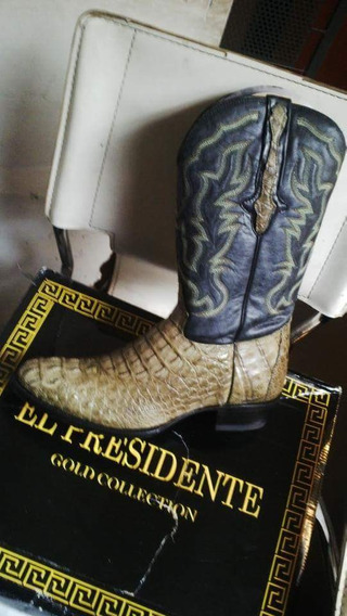 Botas Texanas El Presidente Made In Usa