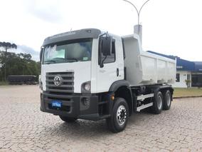 Volkswagen 26.280, Truck, 6x4, Caçamba 14m³, Pastre, Sjp2044