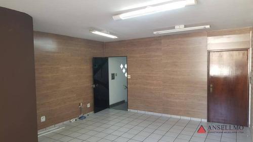 Imagem 1 de 7 de Sala Para Alugar, 35 M² Por R$ 900,00/mês - Jardim Do Mar - São Bernardo Do Campo/sp - Sa0471