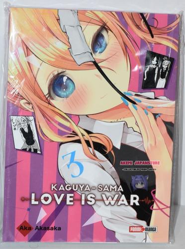 Kaguya Sama Love Is War # 3 - Panini - Manga