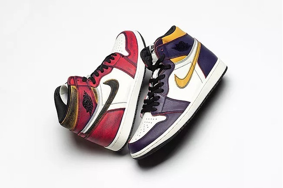 Nike Air Jordan 1 Retro High Sb La To Chicago 43 Novo 2300av