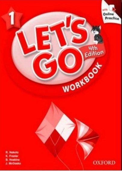 Lets Go 1 - 4th Edition Workbook With Online Practice