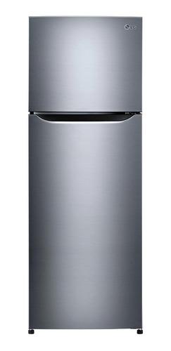 Imagen 1 de 4 de Heladera inverter no frost LG GT32BPP inox con freezer 312L 127V
